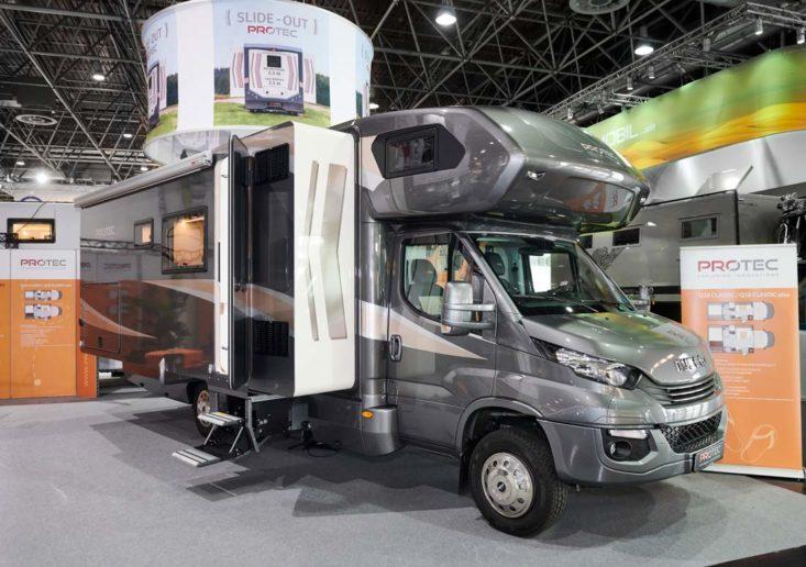 Der PROTEC Q18 auf dem Caravan Salon Düsseldorf 2019